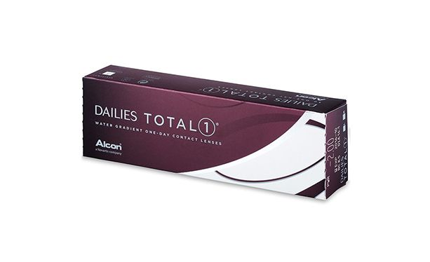 Lentilles de contact Dailies Total 1 30L - Vue de face