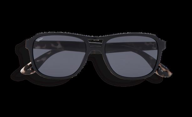 Lunettes de soleil homme BIGROCKA noir/écaille - danio.store.product.image_view_face