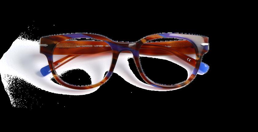 Lunettes de vue femme OAKWOOD violet/violet - Vue de face