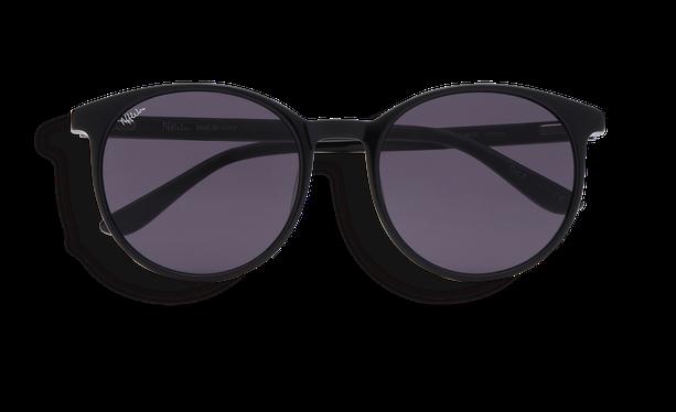 Lunettes de soleil femme JASMINE noir - danio.store.product.image_view_face