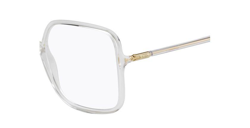 Lunettes de vue femme SOSTELLAIREO1 blanc - Vue de côté