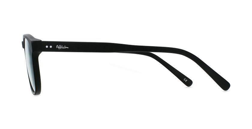 Lunettes de vue homme CLOVIS noir - Vue de côté