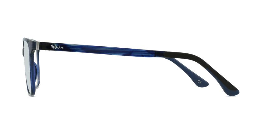 Lunettes de vue femme MAGIC 60 bleu/violet - Vue de côté
