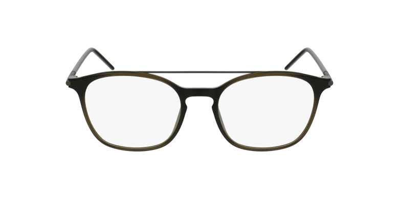Lunettes de vue homme MAGIC 71 gris/vertVue de face