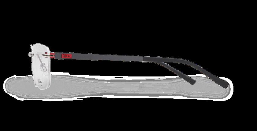Lunettes de vue homme ALPHA10 gris - Vue de côté
