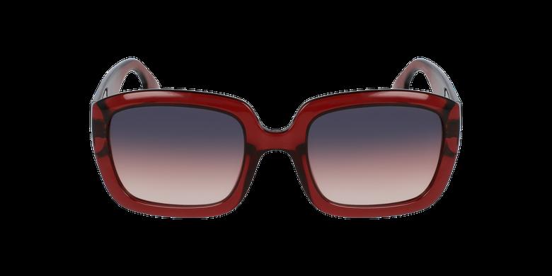 Lunettes de soleil femme DDIOR rouge