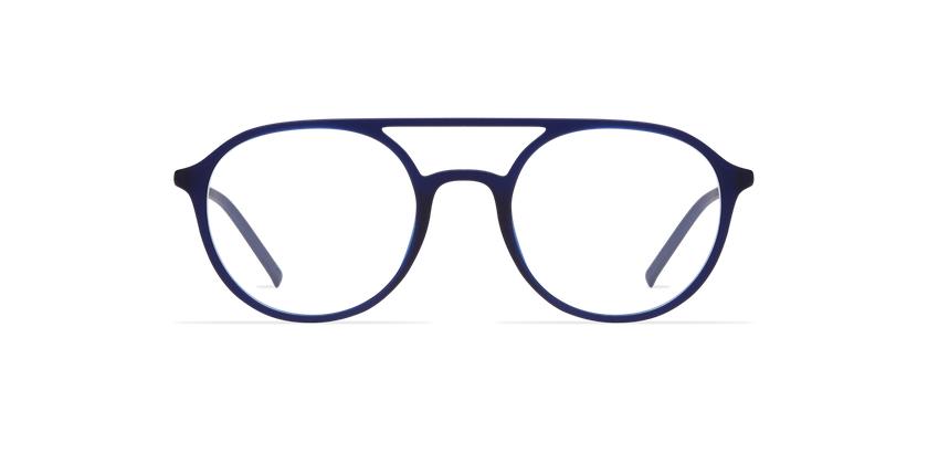 Lunettes de vue homme LIGHT TONIC bleu - Vue de face