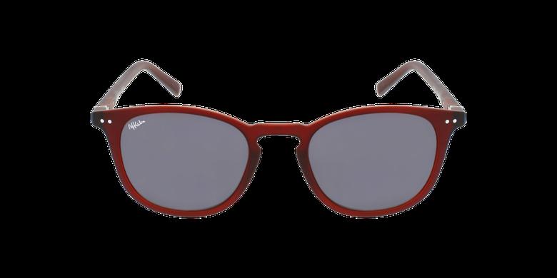 Lunettes de vue FORTY solaire Bordeaux rouge/rougeVue de face