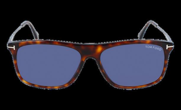Lunettes de soleil homme MAX écaille/bleu - danio.store.product.image_view_face