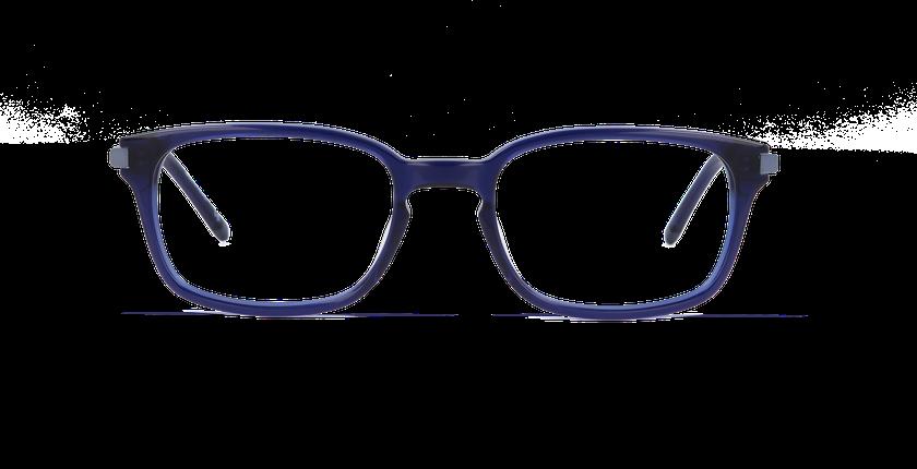 Lunettes de vue homme RODIN bleu - Vue de face