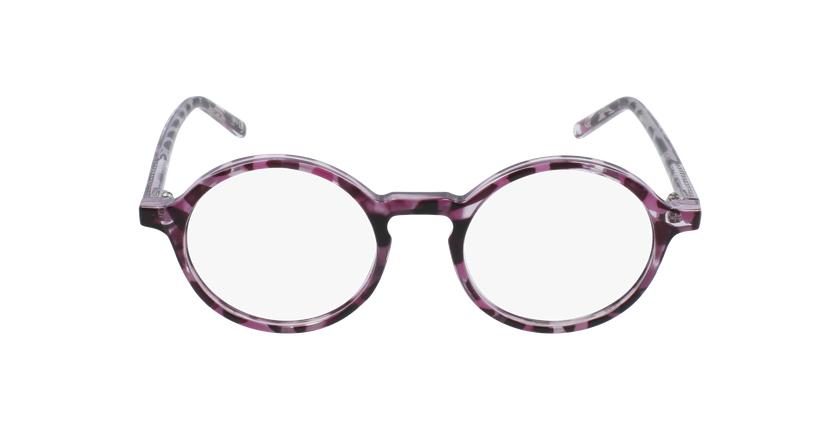 Lunettes de vue enfant RZERO23 violet/écaille - Vue de face