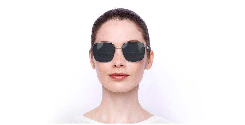 Lunettes de soleil femme SK0263 argenté - Vue de face