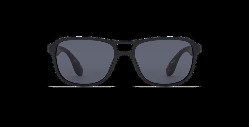 Lunettes de soleil homme BIGROCKA noir/écaille - Vue de face
