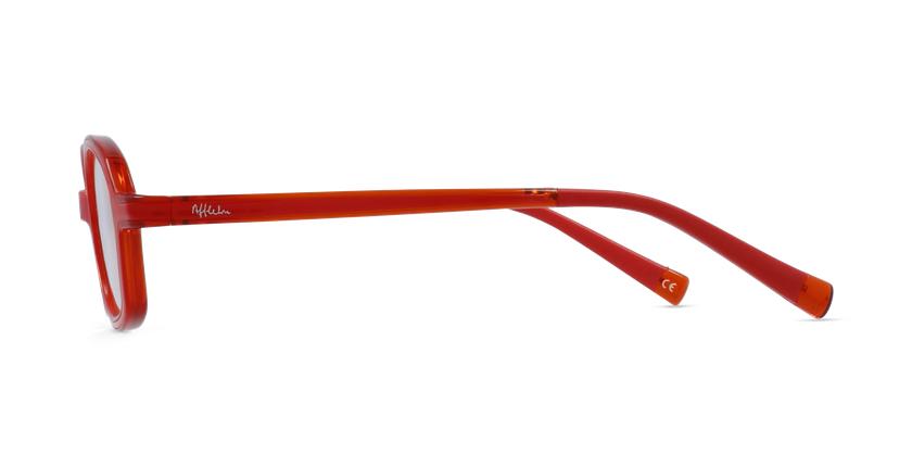 Lunettes de vue enfant REFORM MATERNELLE 2 rouge/orange - Vue de côté