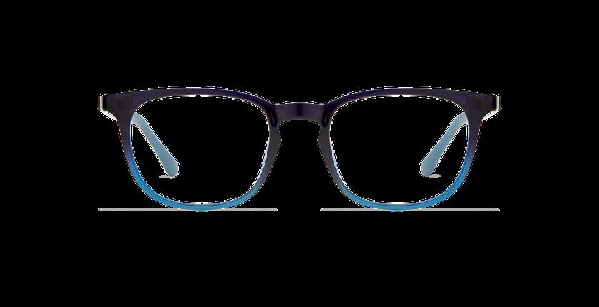 Lunettes de vue homme MAGIC 07 bleu/bleu dégradé - Vue de face