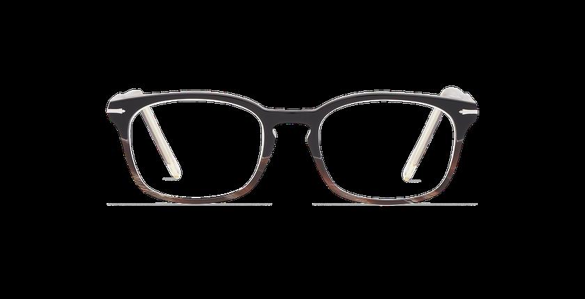 Lunettes de vue homme BELLIGNAT noir - Vue de face