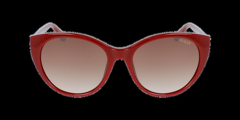 Lunettes de soleil femme GU7594 rougeVue de face