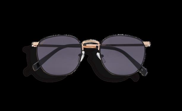 Lunettes de soleil femme BLANES noir/doré - danio.store.product.image_view_face