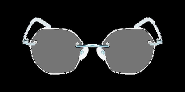 Lunettes de vue femme IDEALE-26 vertVue de face