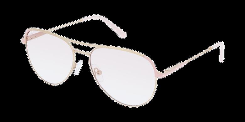 Lunettes de vue femme ANELIE doré/rose