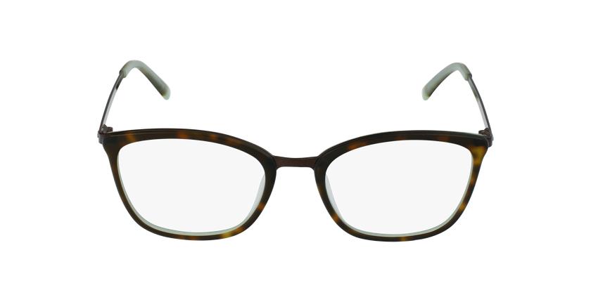 Lunettes de vue femme BEETHOVEN écaille/noir - Vue de face