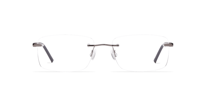 Lunettes de vue homme LIGHT TONIC noir - Vue de face