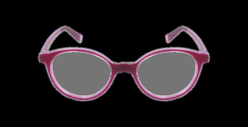 Lunettes de vue enfant RFOP2 rose - Vue de face