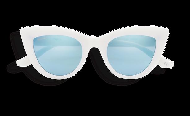 Lunettes de soleil enfant MARILOU blanc - danio.store.product.image_view_face