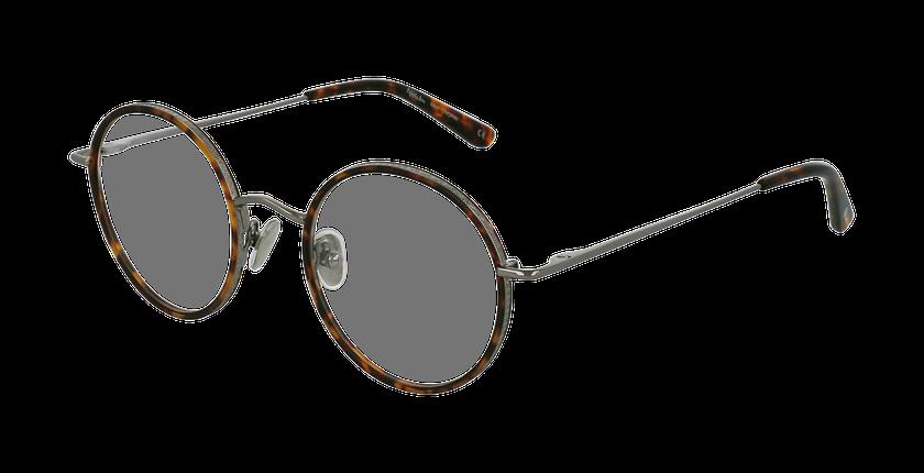 Lunettes de vue CHOPIN gris/marron - vue de 3/4