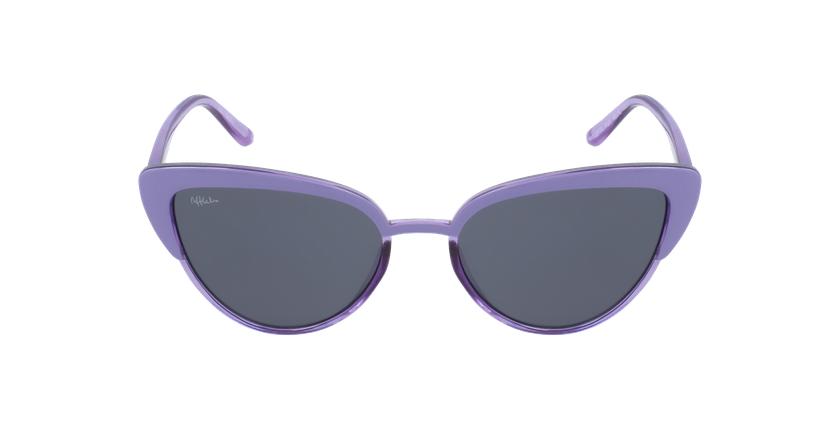 Lunettes de soleil enfant LUPITA violet - Vue de face