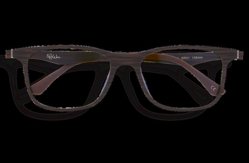 Lunettes de vue homme MAGIC 24 BLUEBLOCK marron - danio.store.product.image_view_face
