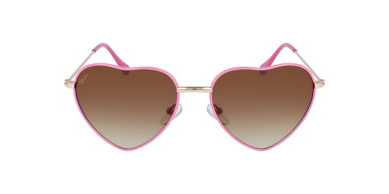 Lunettes de soleil femme CORAZON rose