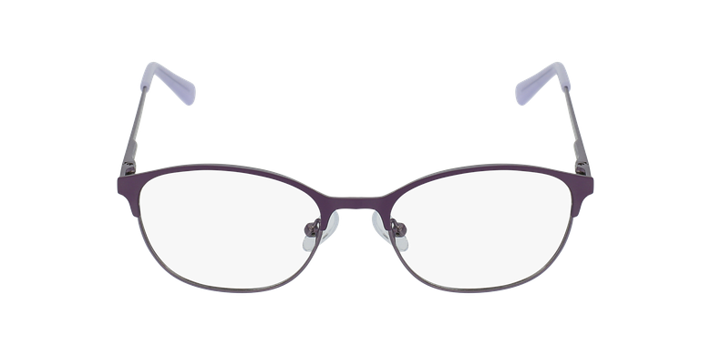 Lunettes de vue femme LISON violet/roseVue de face