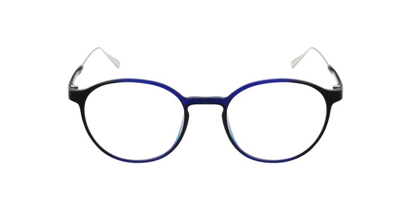 Lunettes de vue MAGIC 65 bleu/argenté - Vue de face