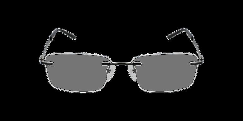 Lunettes de vue homme IDEALE-01 noir/argenté