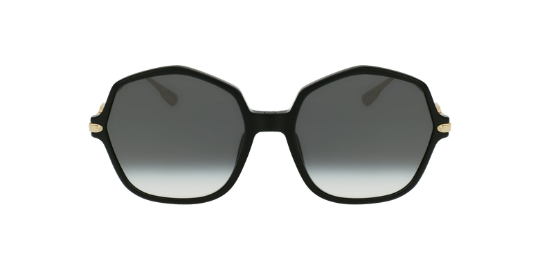 Lunettes de soleil femme DIORLINK2 noir/doré