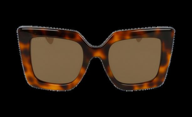 Lunettes de soleil femme GG0435S doré - danio.store.product.image_view_face