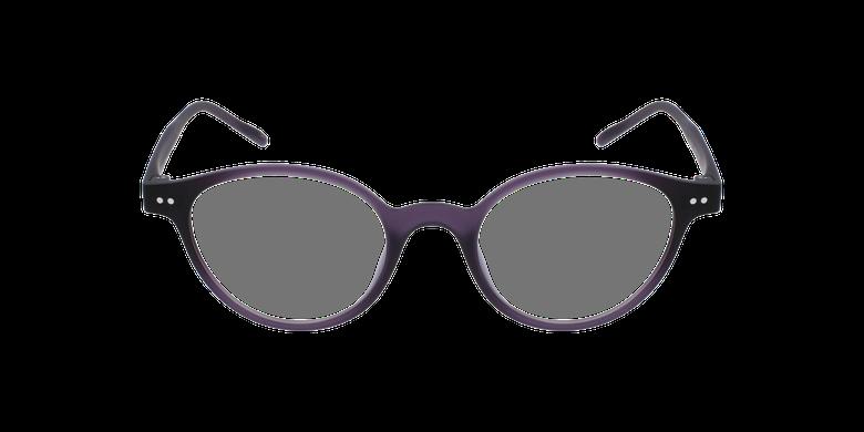 Lunettes de vue femme MAGIC 49 violetVue de face