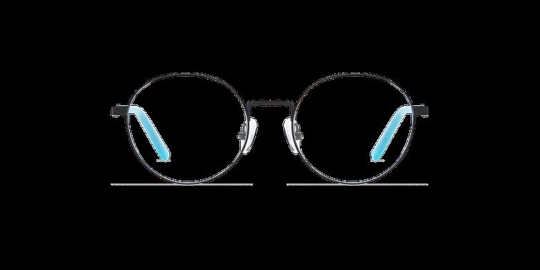 Lunettes de vue femme CLAIRE noir/bleu