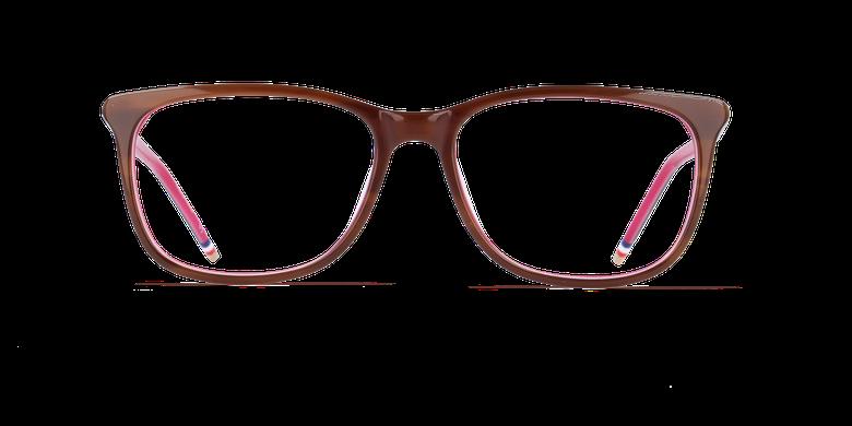 Lunettes de vue femme YLANG marron/rose