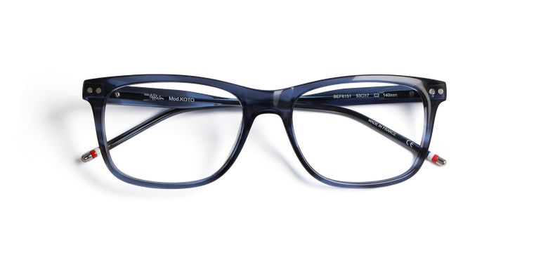 Lunettes de vue homme KOTO bleu