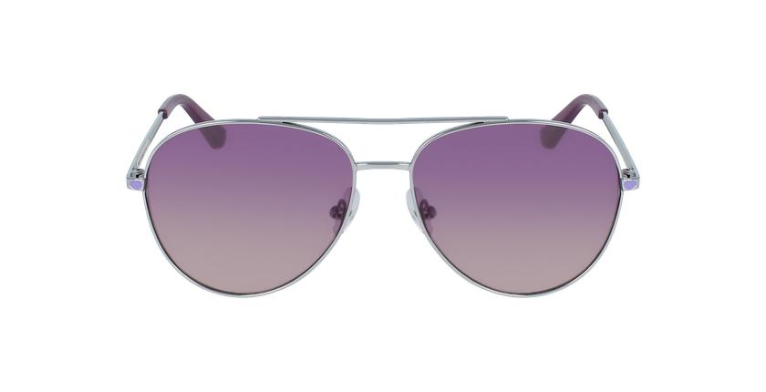 Lunettes de soleil femme PK0017 violet - Vue de face