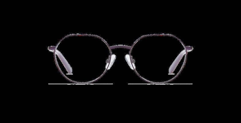 Lunettes de vue femme SELENA violet - Vue de face