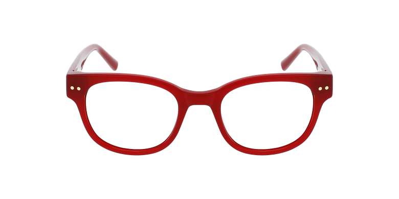 Lunettes de vue femme SWAN rougeVue de face