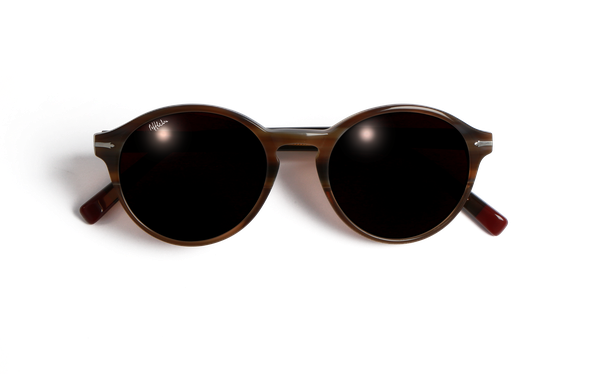 Lunettes de soleil femme POSEIDON marron - danio.store.product.image_view_face