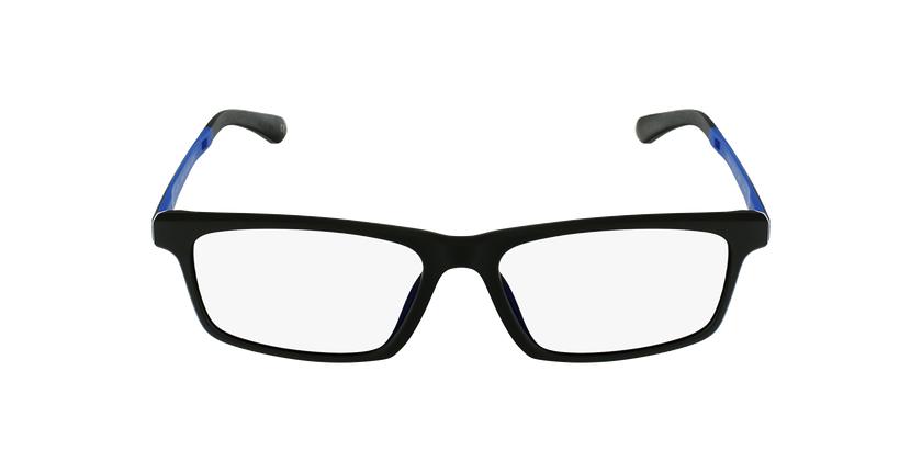 Lunettes de vue homme MAGIC 62 noir/bleu - Vue de face