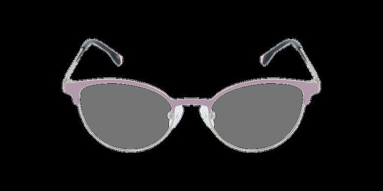 Lunettes de vue femme MAGIC 54 rose/doréVue de face