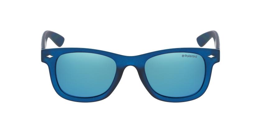 Lunettes de soleil enfant PLD 8009/N bleu/bleu - Vue de face