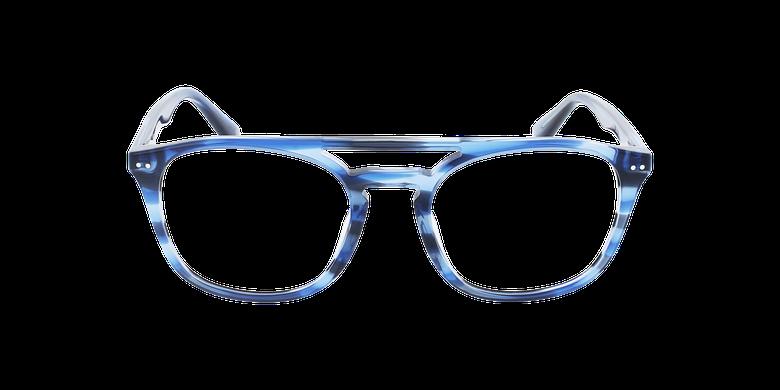 Lunettes de vue homme REMY écaille/bleuVue de face