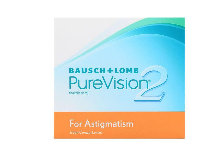 Lentilles de contact PureVision 2 HD for Astigmatism 6L - Vue de face ... 10adbf5e6699